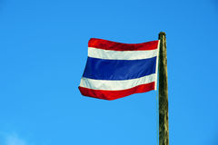 flagga thailand Arkivfoto