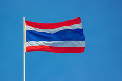 flagga thailand Royaltyfria Foton
