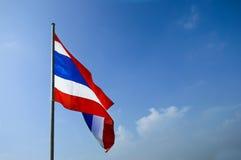 Flagga Thailand flagga Arkivbilder