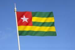flagga togo Arkivfoton