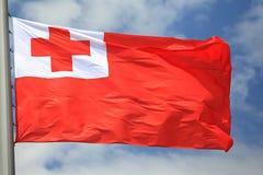 flagga tonga Arkivfoton