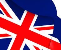 flagga uk royaltyfri illustrationer