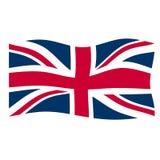 flagga uk Royaltyfri Bild