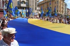 flagga ukraine Arkivbilder