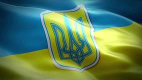 flagga ukraine royaltyfri illustrationer