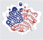 flagga USA Arkivbilder