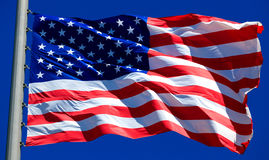 flagga USA Royaltyfria Bilder