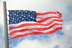 flagga USA Royaltyfri Bild