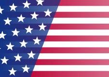 flagga USA Baner för din text vektor stock illustrationer