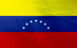 flagga venezuela royaltyfri illustrationer