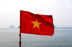 flagga vietnam Arkivbild