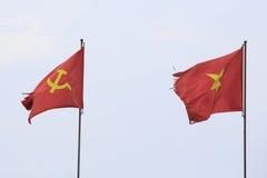 flagga vietnam Royaltyfri Fotografi