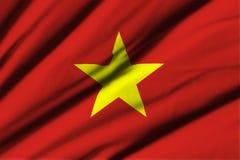 flagga vietnam Royaltyfria Bilder