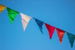 Flaggabaner Arkivfoto
