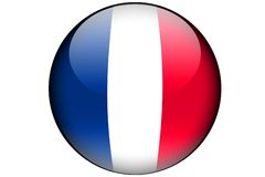 flaggafransman Arkivbild
