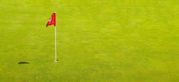 flaggagolf Arkivfoto