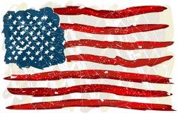 flaggagrunge USA Arkivfoton
