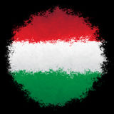 flaggahungary national arkivfoton