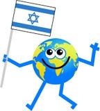 flaggajordklot royaltyfri illustrationer