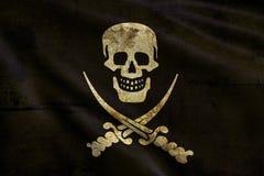 Flaggan av piratkopierar Royaltyfri Fotografi