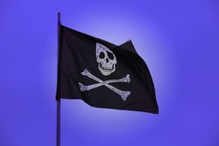 flaggan piratkopierar Royaltyfria Foton