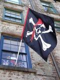 flaggan piratkopierar Fotografering för Bildbyråer