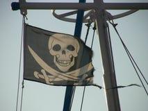 flaggan piratkopierar Arkivbilder