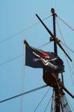 flaggan piratkopierar Arkivfoto