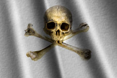 flaggan piratkopierar Royaltyfri Bild