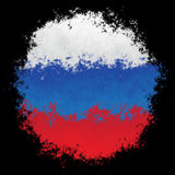 flagganational russia Royaltyfria Bilder