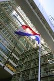 flaggaNederländerna Royaltyfri Fotografi