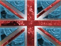 flaggapengar royaltyfri illustrationer
