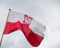 flaggapolermedel Arkivbild