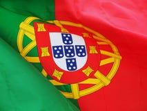 flaggaportugis Royaltyfri Foto