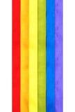 flaggaregnbåge Royaltyfri Fotografi