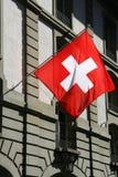 flaggaschweizare Arkivbilder
