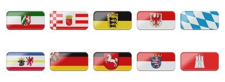 flaggaset Arkivbild