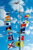 flaggasignalering Royaltyfria Foton
