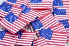 flaggastapel Royaltyfri Fotografi