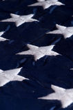 flaggastjärnor Royaltyfri Foto