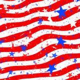 flaggastjärnor görar randig oss Arkivbild
