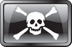 flaggasymbolen piratkopierar Royaltyfria Foton