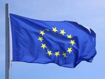 flaggaunion för 02 european Royaltyfri Bild
