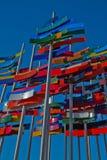 Flagge lizenzfreie stockfotos