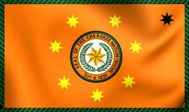 Flagge der Cherokee Nation Lizenzfreie Stockbilder