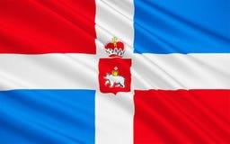 Flagge der Dauerwelle Krai, Russische Föderation Lizenzfreie Abbildung