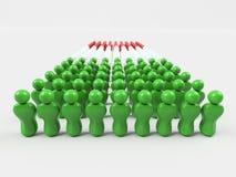 Flagge der Illustrations-3D von Italien Italien, Flagge, Leute, Rot, Schwarzes, Gelb, Gruppe, Land, Nation, Personen, Gesellschaf Stockbilder