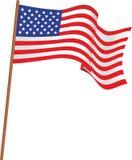 Flagge der USA Stockbilder