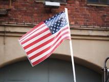 Flagge der USA stockfotos