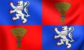 Flagge des Gascognes, Frankreich Stockfoto